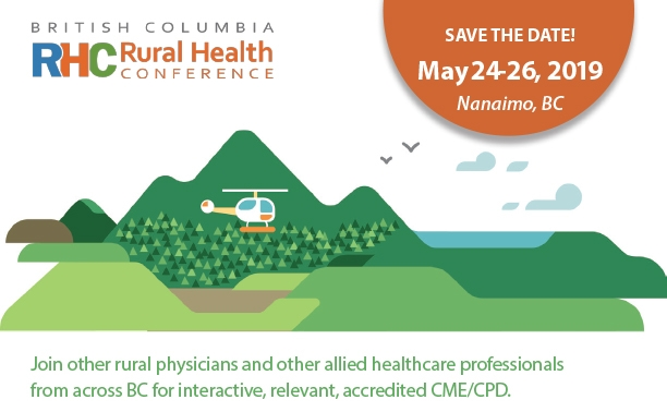 Save the Dates for 2019 BC Rural Health Conference | BC Rural Update